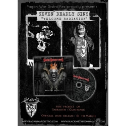 SEVEN DEADLY SINS Welcome Radiation CD