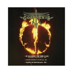 Goatpenis - Alliance for War - CD/DVD