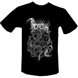 THRONEUM The Horros Tongues of time t-shirt