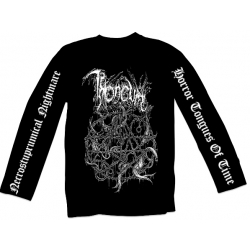 THRONEUM The Horros Tongues of time longsleeve